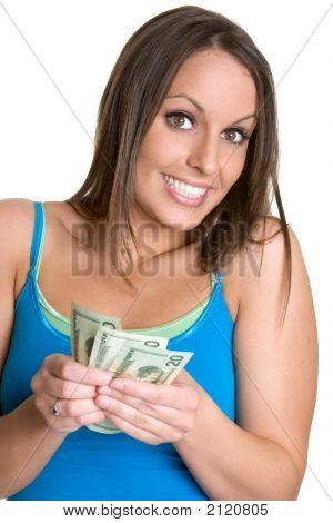Dinheiro de exploração de Lady