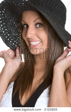 Smiling Hat Girl