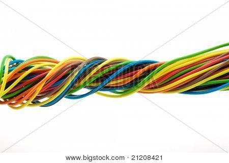 Bundle of color cable