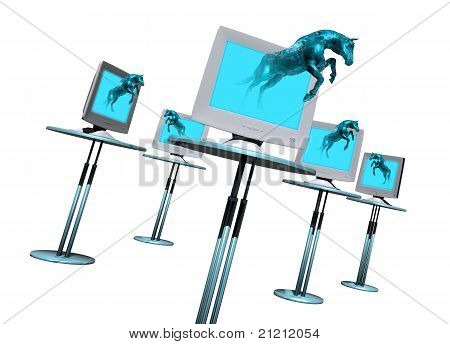Trogan Horse Computer Virus