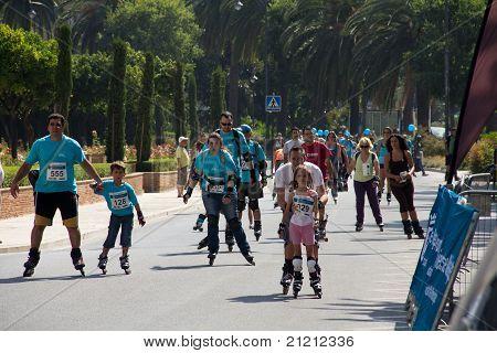 Families Skating