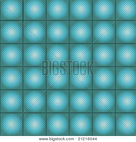 Pattern metal grid vector