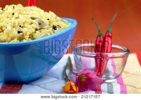 Saffron Rice Dish