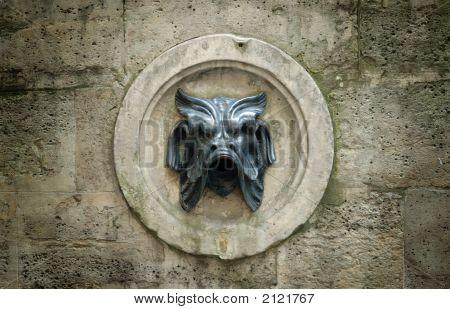 Parisian Fountain Detail