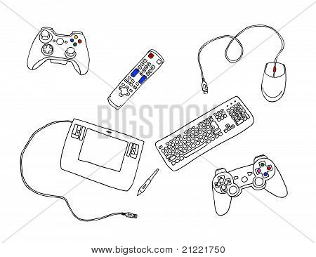 Controllers for computer, consoles and TV