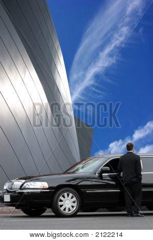 schwarze Limousinen