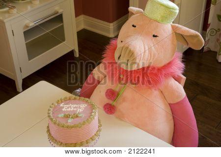 Decor Pigs Bday