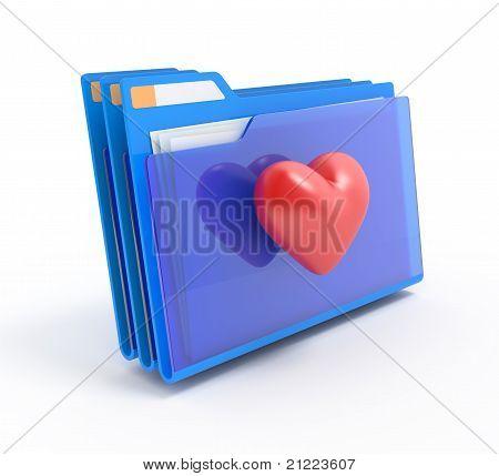 Folders With A Heart.