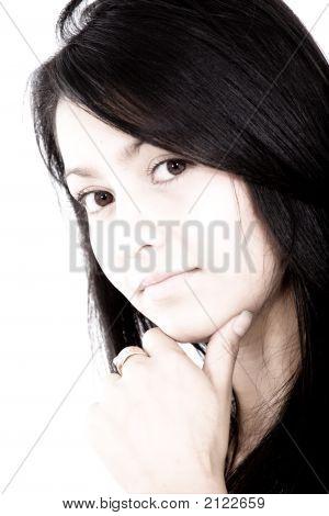 Retrato de mulher de negócios