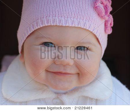 Porträt von beautiful baby