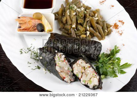 tasty fish dish