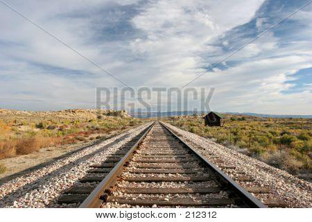 Midwest vías del tren