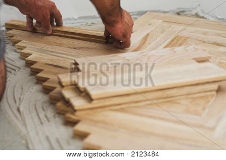 Parquet And Carpenter Concept
