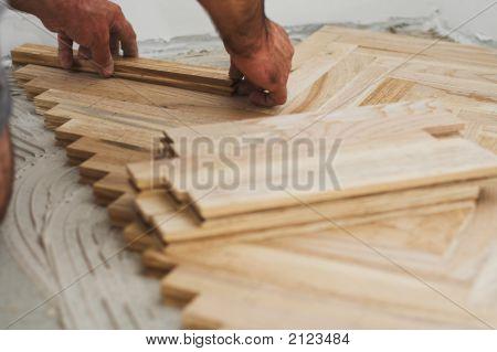 Parquet And Carpenter Concept