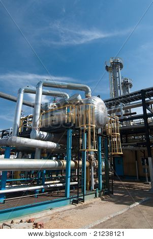 Gas Industry. Sulfur Refinement