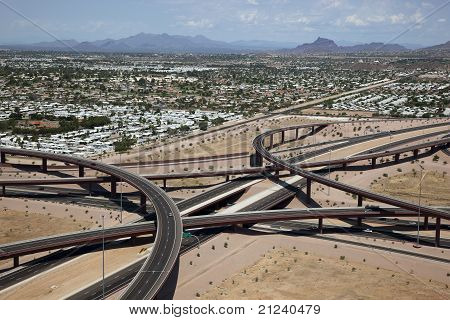 East Mesa Freeway Interchange