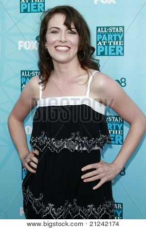 SANTA MONICA - JULY 14: Crista Flanagan at the Fox TCA Summer Party in Santa Monica, California on July 14, 2008.
