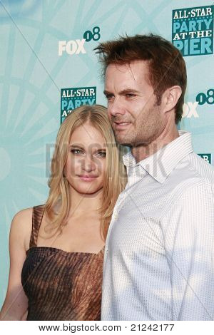 SANTA MONICA - JULY 14: Leven Rambin and Garret Dillahunt at the Fox TCA Summer Party in Santa Monica, California on July 14, 2008.