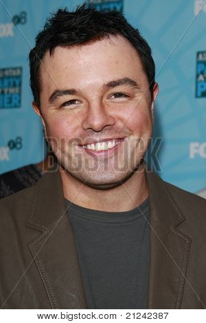 SANTA MONICA - JULY 14: Seth MacFarlane at the Fox TCA Summer Party in Santa Monica, California on July 14, 2008.