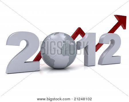Neues Jahr 2012-Konzept