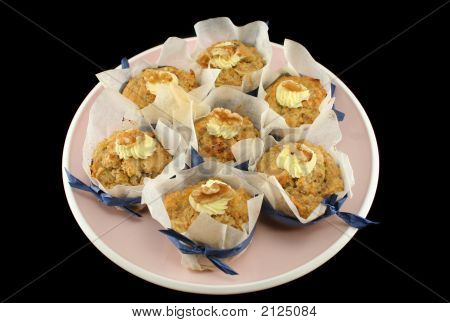 Fruit Muffins With Walnuts 1