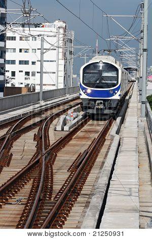Modern Sky Train