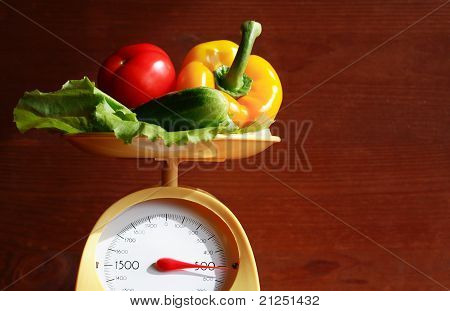 Weighing Of Vegetables