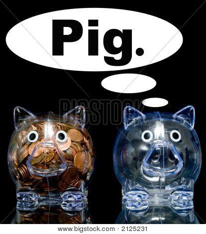 Jealous Pig
