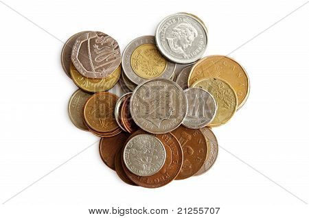 Coins Of Diferent Countries