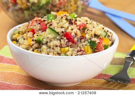 Ensalada de Quinoa vegetarianas