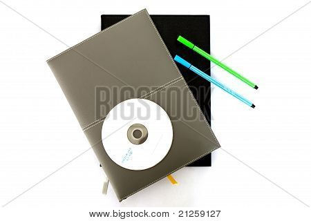 Notebook / Pen / CD