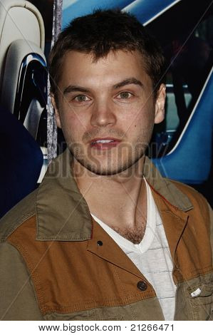 LOS ANGELES - MAR 22:  Emile Hirsch arriving at the Los Angeles HBO Premiere of 'His Way' at Paramount Studios in Los Angeles, California on March 22, 2011.
