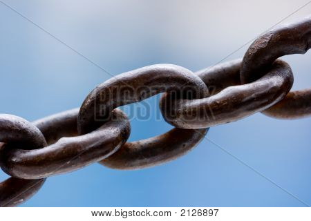 Chain Link Close Up