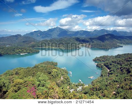 Beautiful Sun Moon Lake
