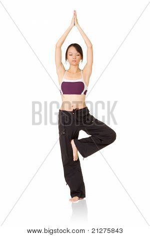 Professional Yoga Woman