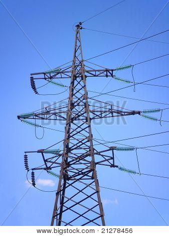 High-voltage power support