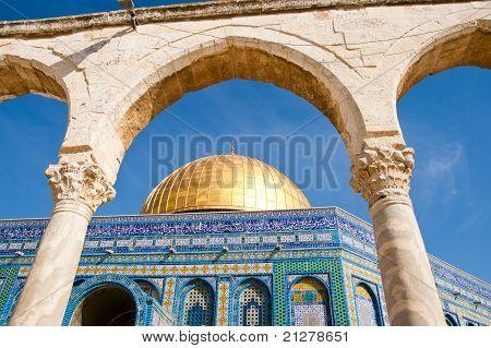 Kuppel des Gesteins-Jerusalem