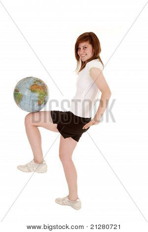 Happy Globe Knee