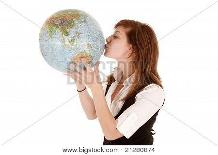 Kuss-Erde