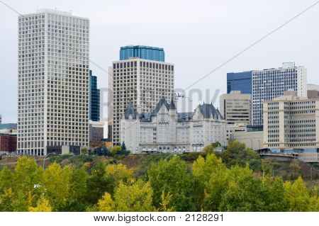 Edmonton City Skyline