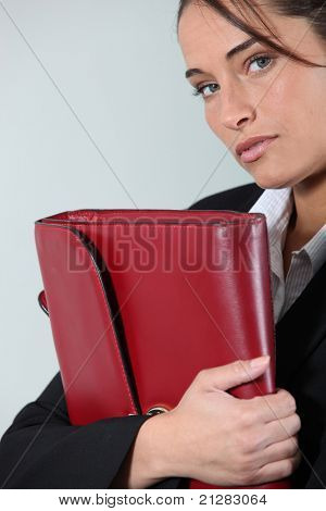 Portrait of an executive secretary