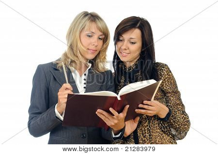 Women With A Book