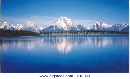 Grand Teton Blue