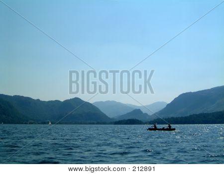Kayak On Derwent Water