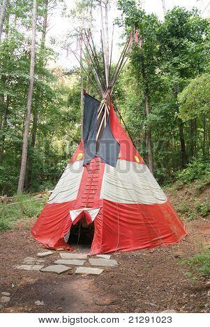 Plains-Indianer-Tipi