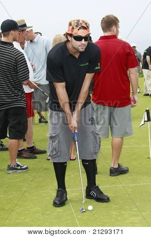 PALOS VERDES, CA - JUL 29: Brody Jenner at the Ryan Sheckler X Games Celebrity Skins Classic at the Trump National Golf Club in Rancho Palos Verdes, California on July 29, 2008.