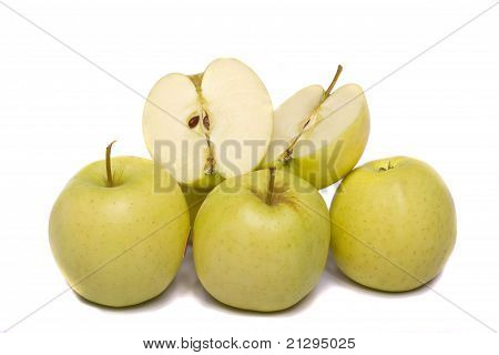 Bunch Of Yellow Apples