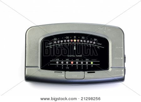 electronic instrument tuner