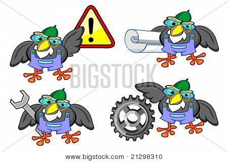 Four Birds - Workers