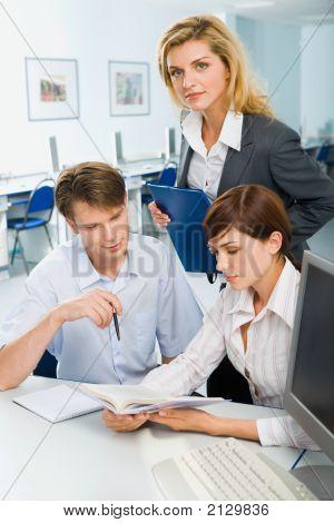 Team At Meeting